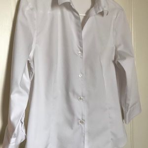 Jones New York White Shirt